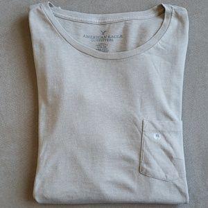 AE Short-Sleeved Chest Pocket T-Shirt